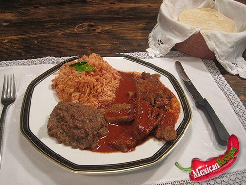 Adobo flank steaks
