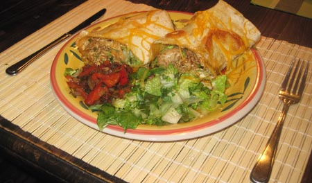 Mexican Beef Burrito