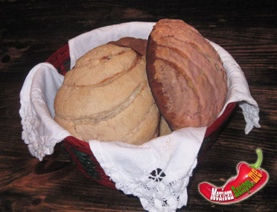Pain mexicain conchas