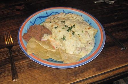 Enchiladas Svizzere