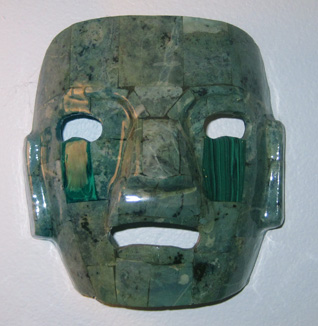 Mexican Jade Mask