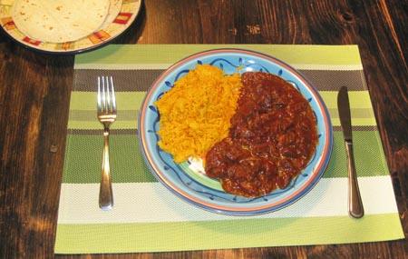 a plate of Birria