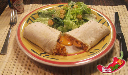 Mexican Chicken Burrito