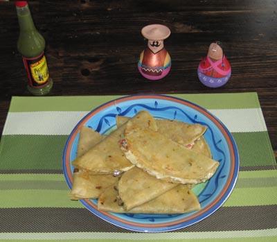 mexican style quesadillas