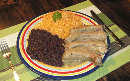 Mexican Ribs in Mole Verde