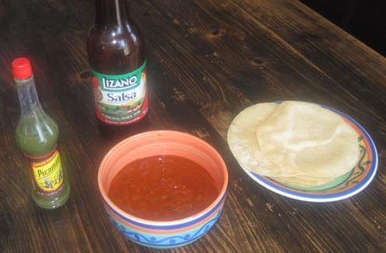 Salsas and Tortillas