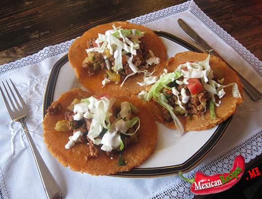 Assiette d'Enchiladas Tultecas