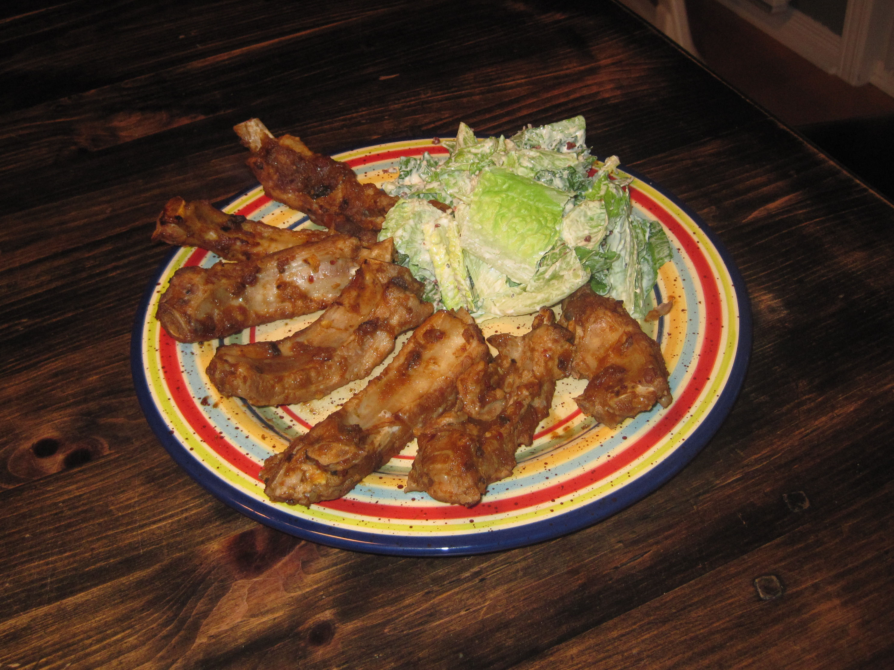 mexican style orange ribs