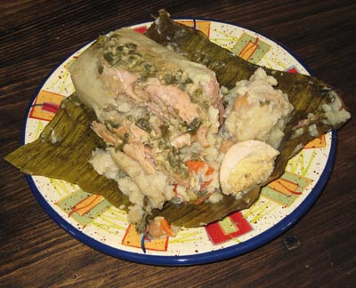 The Recipe For Tamales Tolimenses